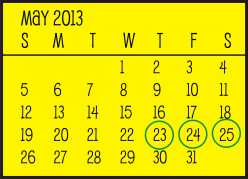 Ecc Calendar.Garage Sales Date Solid May 23 25th Northwest Omaha