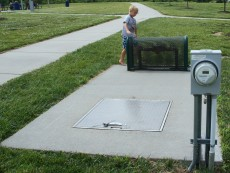Stoneridge Northwest Omaha Neb Sprayground Child Burned Steel Grate