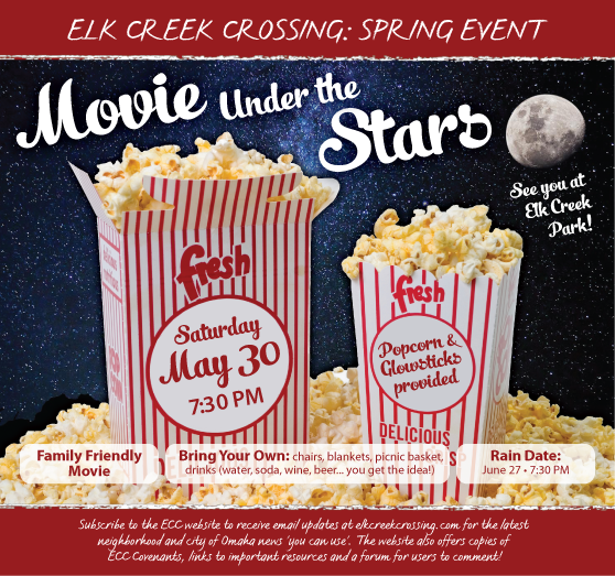 Movie under the stars Ad