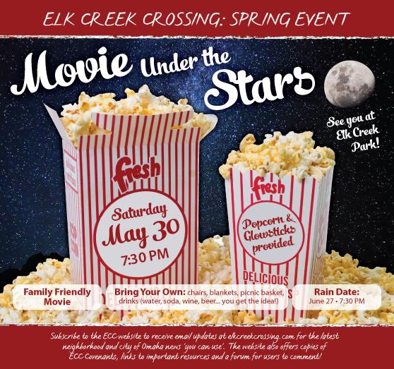 Movie under the stars Ad