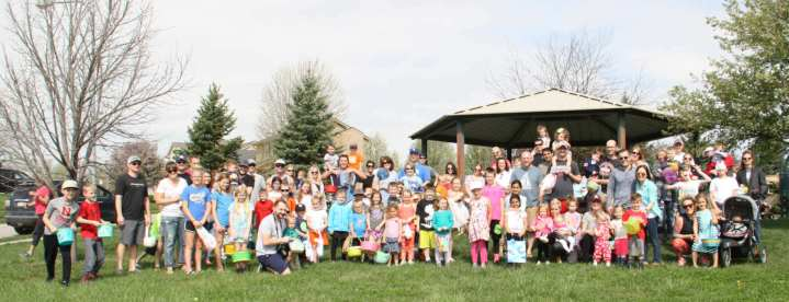 ECC HOA Egg Hunt 2017