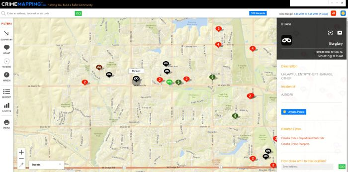 A Crimemapping.com may 20-27 2017