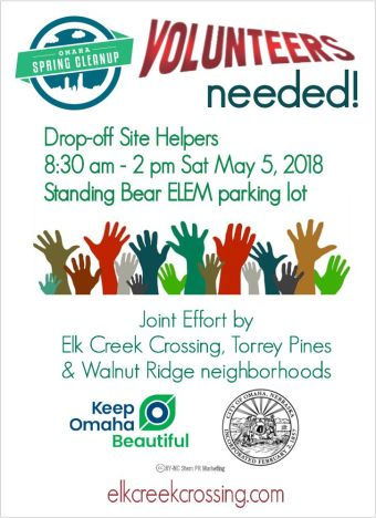 Standing Bear ELEM Disposal Site May 5 2018 Omaha