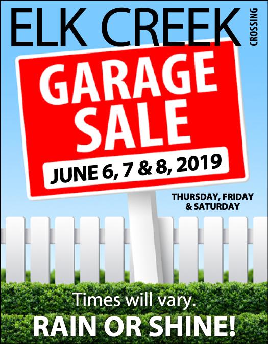 ECC Garage Sales Start TOMORROW! – Northwest Omaha